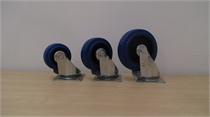 גלגלים גומי כחול